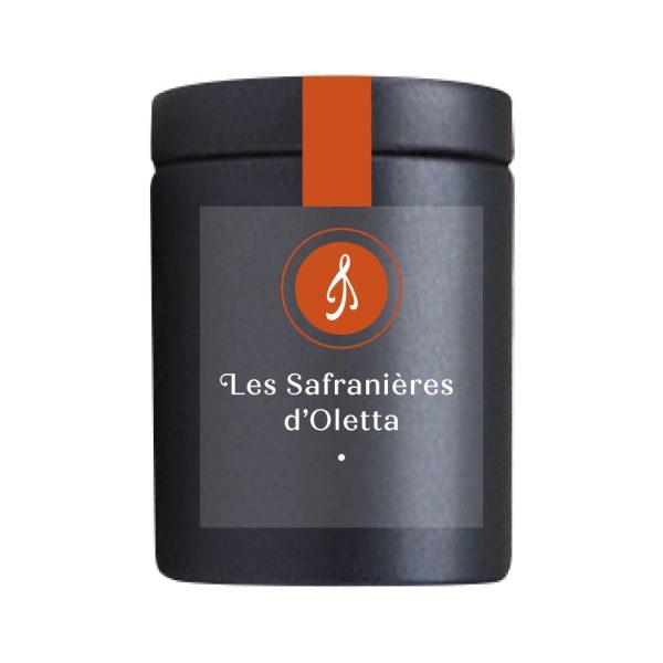 Les Safranières D'Oletta Safran Bio de Corse en boîte